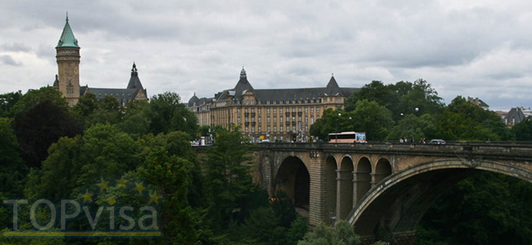 шенгенская виза в Люксембург